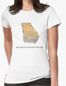 Georgia Urbex Womens Fitted T-Shirt