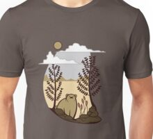 Cute Simple Bear in the Forest  Unisex T-Shirt