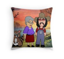I Just Got Hitched Throw Pillow