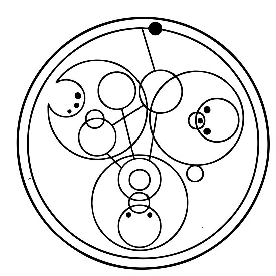 """""""Come along, Pond"""" Translated into Gallifreyan by timelordscribe"""