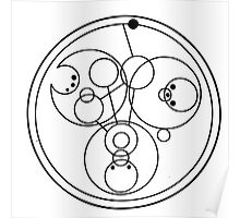 """Come along, Pond"" Translated into Gallifreyan Poster"