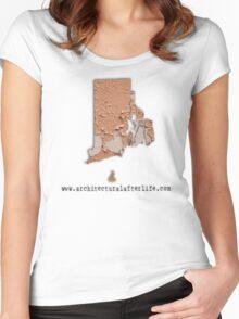 Rhode Island Urbex Women's Fitted Scoop T-Shirt