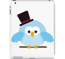 Cute Owl with Hat iPad Case/Skin