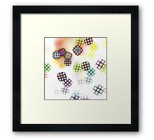Color of your Window Framed Print