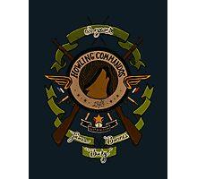 Sgt James Bucky Barnes (green) Photographic Print