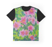 Happy Flowers (Pastel) Graphic T-Shirt