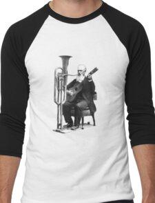Vintage Music - Guitar & Tuba Men's Baseball ¾ T-Shirt