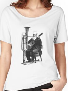 Vintage Music - Guitar & Tuba Women's Relaxed Fit T-Shirt