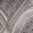 Arc de Triomphe Details by Maren Misner