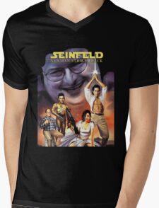 Newman Strikes Back Fan Art Mens V-Neck T-Shirt
