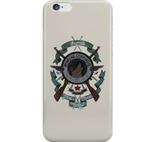 Sgt James Bucky Barnes (blue) iPhone Case/Skin