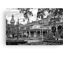 The Henry B. Plant Museum BW  Canvas Print