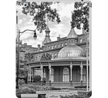 The Henry B. Plant Museum BW  iPad Case/Skin