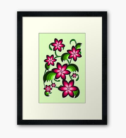 Flower Arrangement Framed Print
