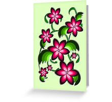 Flower Arrangement Greeting Card