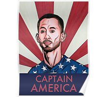 """Clint Dempsey: Captain America"" Poster"