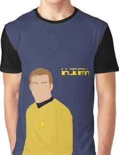 Captain Kirk Graphic T-Shirt