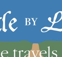 Little by Little One Travels Far Sticker