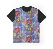 Red brolly Graphic T-Shirt
