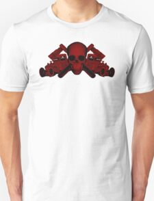 red wrench skull ratrod T-Shirt