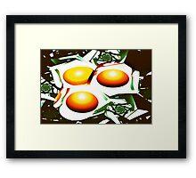 Eggs for Breakfast Framed Print