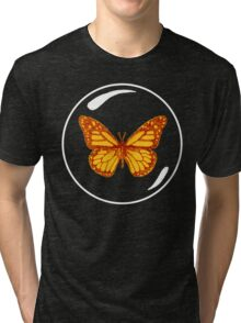 """""""Will you miss me?"""" -Asked the butterfly. III Tri-blend T-Shirt"""
