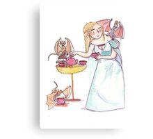 Targaryen tea party Canvas Print