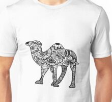 Hipster Camel- One Hump Unisex T-Shirt