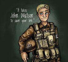 Save the Life - John Watson by MCXI