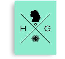 Hipster Potter Pals - Hermione Canvas Print