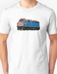 Comic Book Style Train T-Shirt