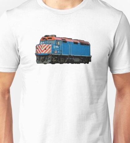 Comic Book Style Train Unisex T-Shirt