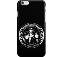 Stevie Ray Vaughan & Double Trouble iPhone Case/Skin