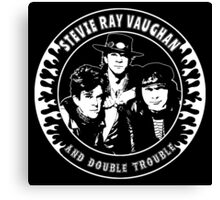 Stevie Ray Vaughan & Double Trouble Canvas Print