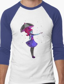Umbrella Girl Men's Baseball ¾ T-Shirt