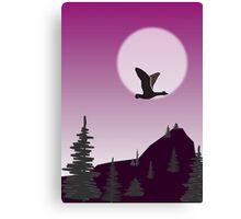 Purple Sky Canvas Print