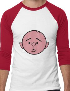 Karl Pilkington - The Ricky Gervais Show Men's Baseball ¾ T-Shirt