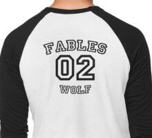 Bigby Wolf Men's Baseball ¾ T-Shirt