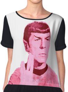 Mr.Spock Chiffon Top
