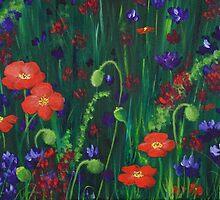 Wild Poppies by Anastasiya Malakhova