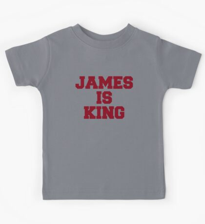 James is King Kids Tee