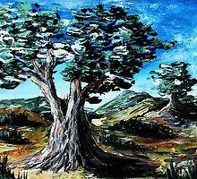 Old Olive Tree by Anastasiya Malakhova