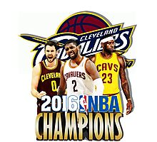 Cleveland Cavaliers Champions Photographic Print