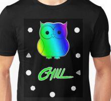 ChillWear Rainbow Owl Unisex T-Shirt