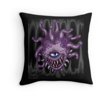 Gloomy Beholder Throw Pillow