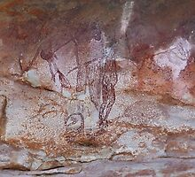 Aboriginal Rock Art, Arnhem Land by Carole-Anne