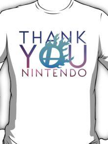 #Thank you Nintendo T-Shirt