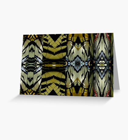 Butterfly Wing Quadtych Greeting Card