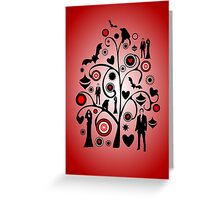 Vampire Art Greeting Card