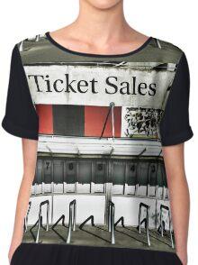 Ticket Sales  Chiffon Top